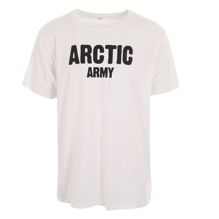 ARCTIC T SHIRT - WHITE/BLACK MEN'S