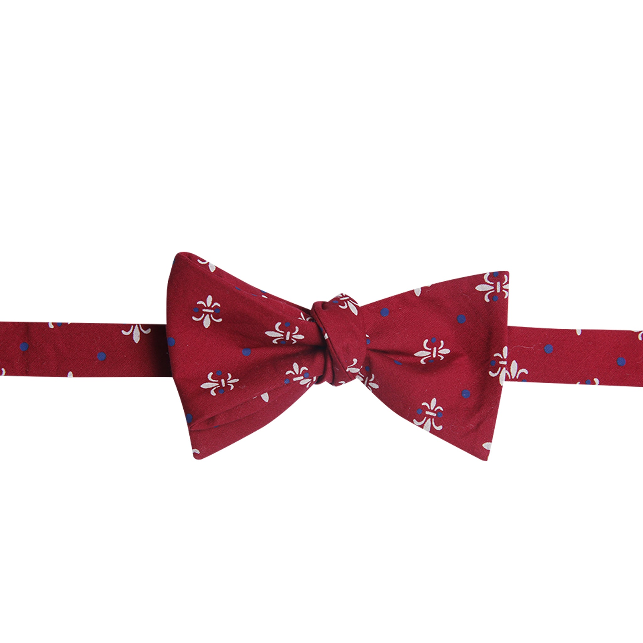Red Fleur-De-Lis Bowtie - Barrel Down South