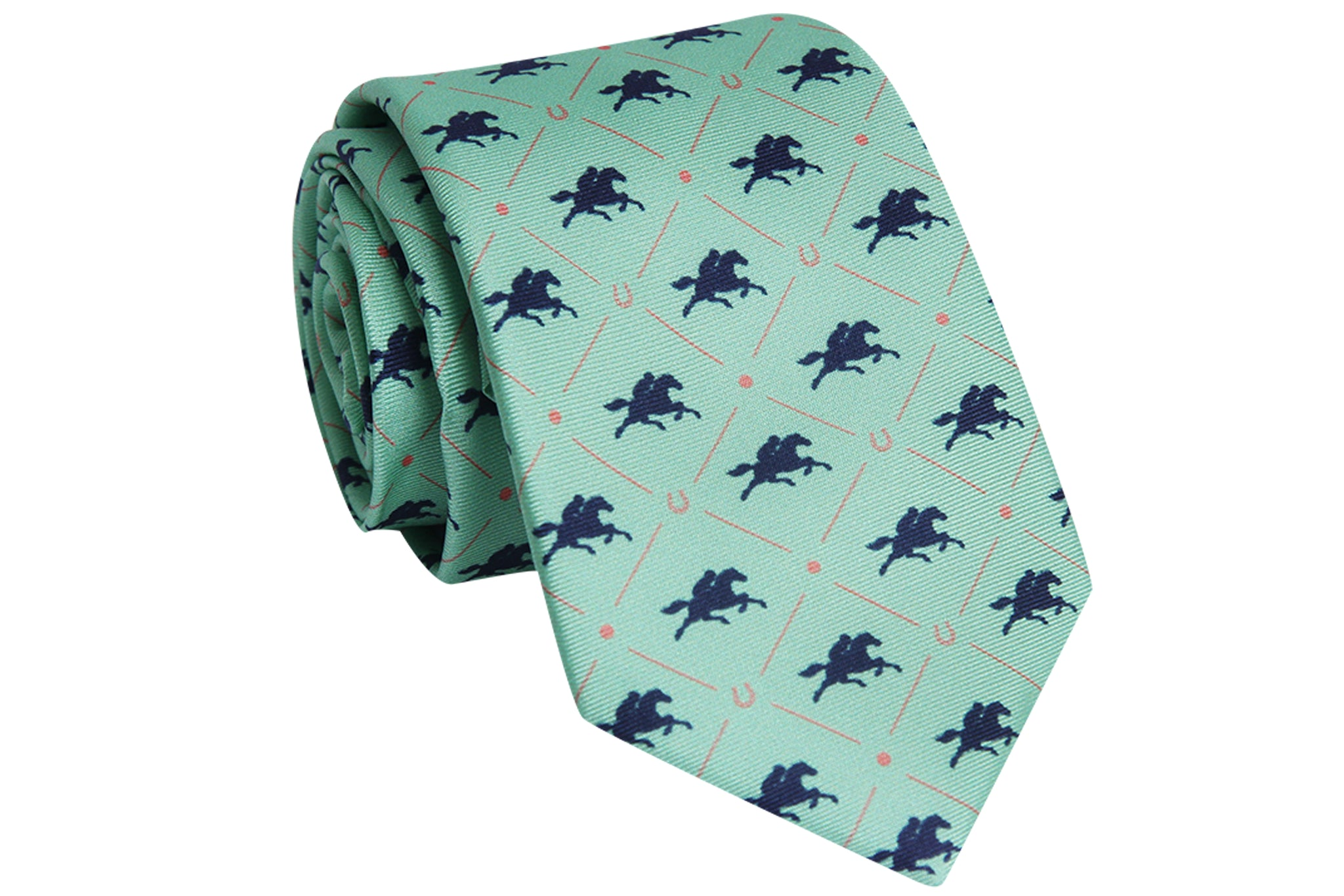 Mint Front-Runner Necktie - Barrel Down South