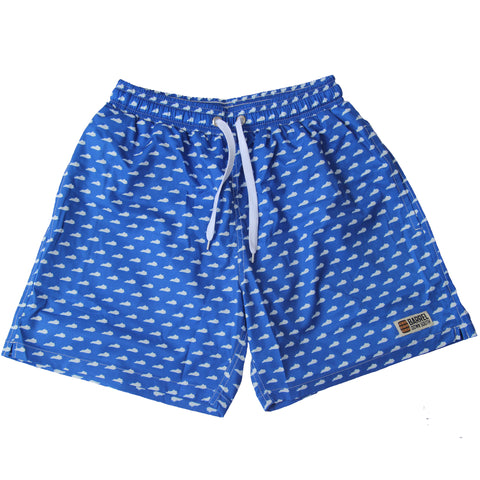 KY Blue State Swim Trunks - Barrel Down South