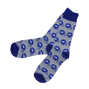 Blue Football Socks - Barrel Down South