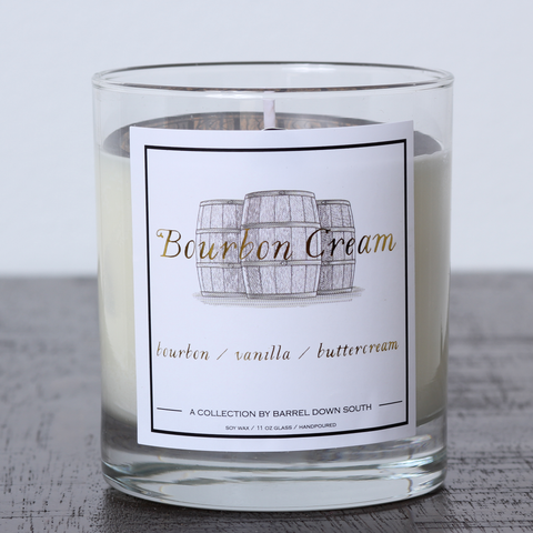 Bourbon Cream Candle - Barrel Down South