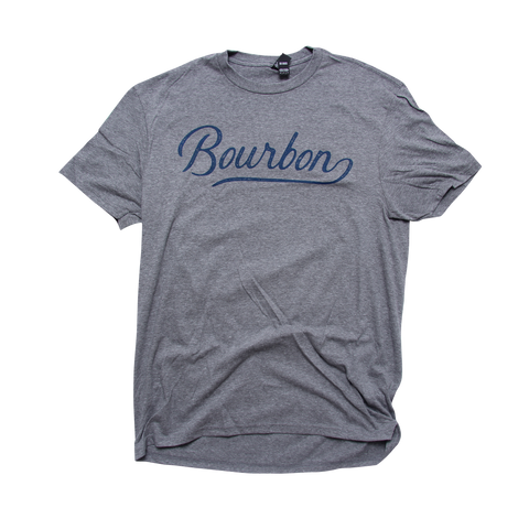 Bourbon Script T-Shirt - Barrel Down South
