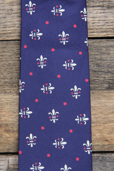 Fleur-De-Lis Necktie - Barrel Down South