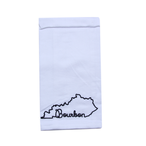KY Shape Bourbon Tea Towel - Barrel Down South