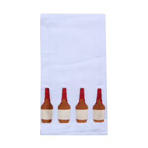 Bourbon Bottle Tea Towel