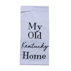 My Old KY Home Tea Towel - Barrel Down South