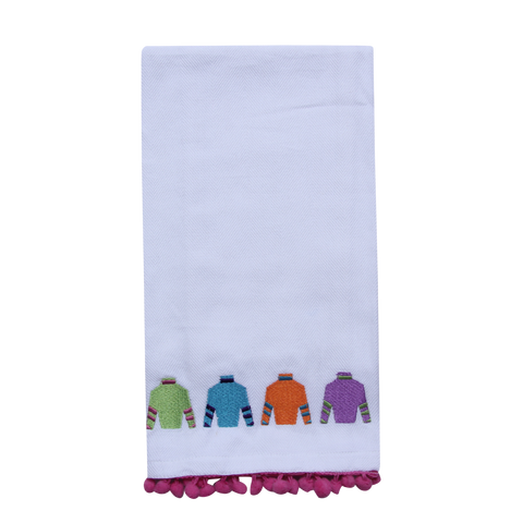 Jockey Silks Tea Towel - Barrel Down South