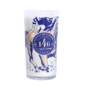 2020 Kentucky Derby Glass Candle - Barrel Down South