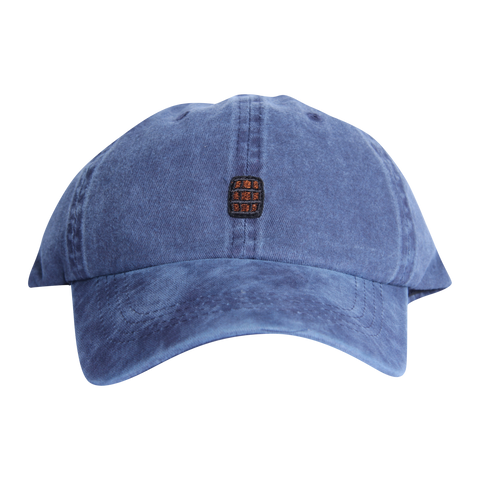Navy Blue Washed Bourbon Barrel Hat - Barrel Down South