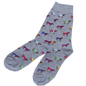 Multi Color Horse Socks - Barrel Down South