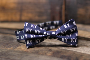 Navy KY Bowtie - Barrel Down South