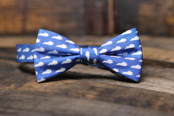 Blue KY Bowtie - Barrel Down South