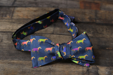 Horse Blanket Bowtie - Barrel Down South