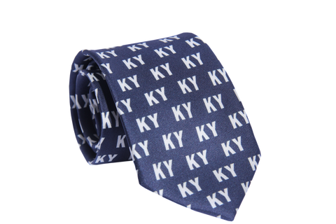 Navy KY Necktie - Barrel Down South
