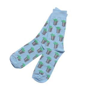 Light Blue Julep Sock - Barrel Down South