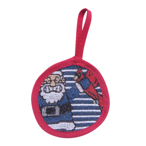 Blue Stripe Naughty List Ornament - Barrel Down South