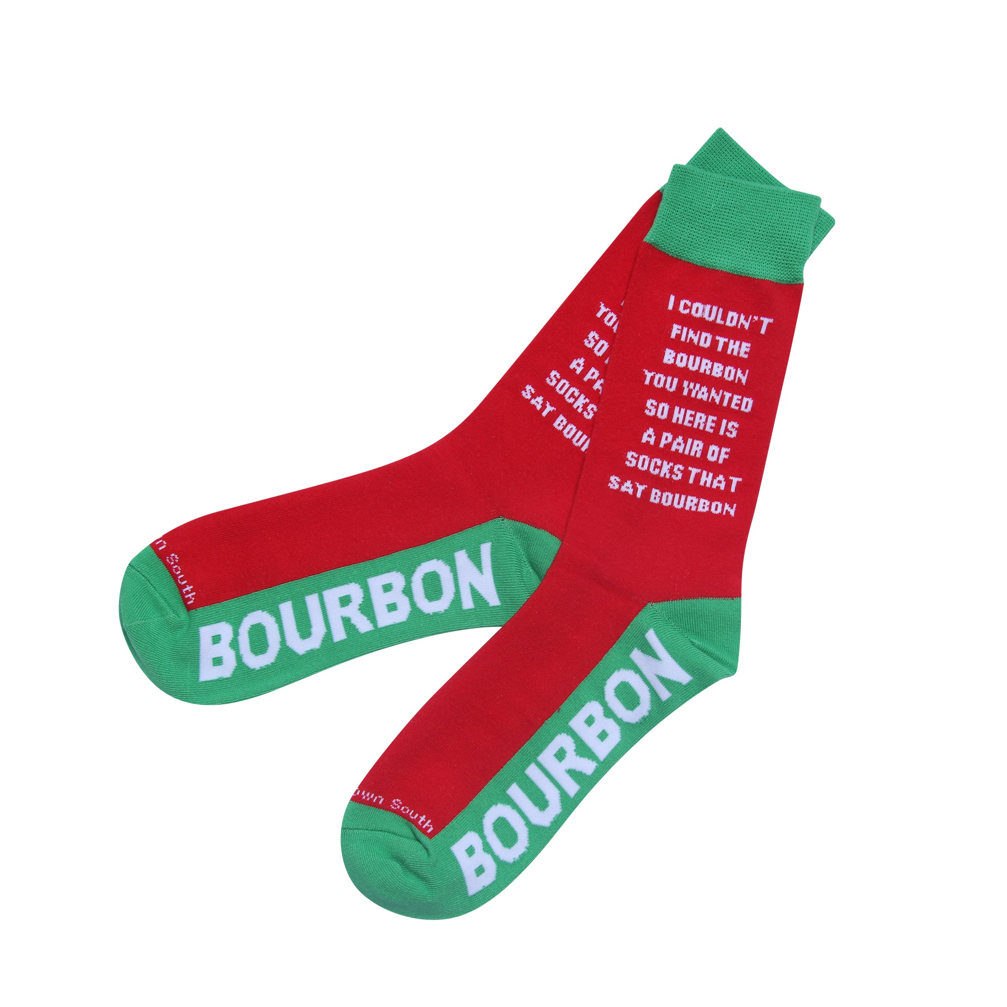 I Couldn't Find The Bourbon Socks