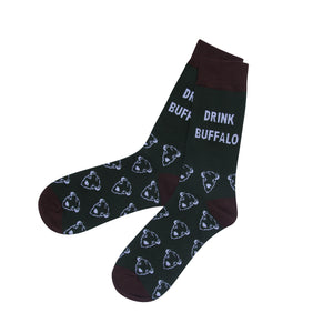 Drink Buffalo Socks
