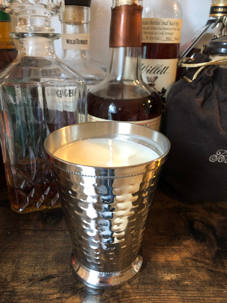 Mint Julep Cup Candle - Barrel Down South