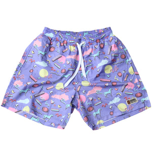 KY 90's Swim Trunks - Barrel Down South