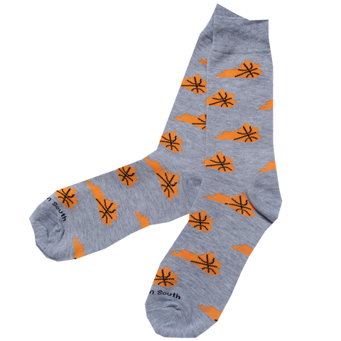 KY Shape Basketball Socks - Barrel Down South