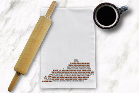KY Rocks Tea Towel - Barrel Down South