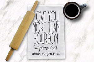 Love You Tea Towel - Barrel Down South