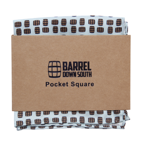 Mint Barrel Aged Pocket Square - Barrel Down South