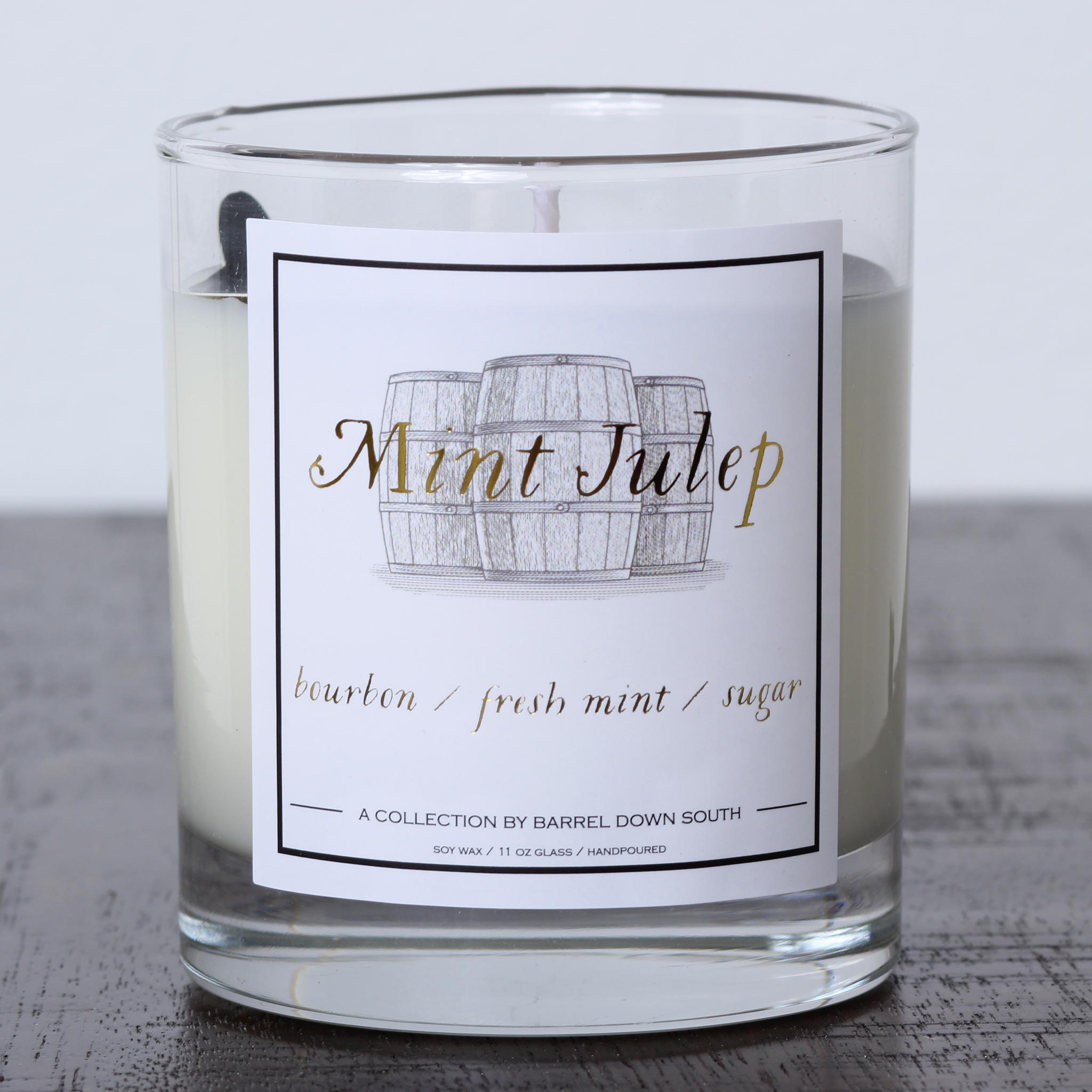 Mint Julep Candle - Barrel Down South