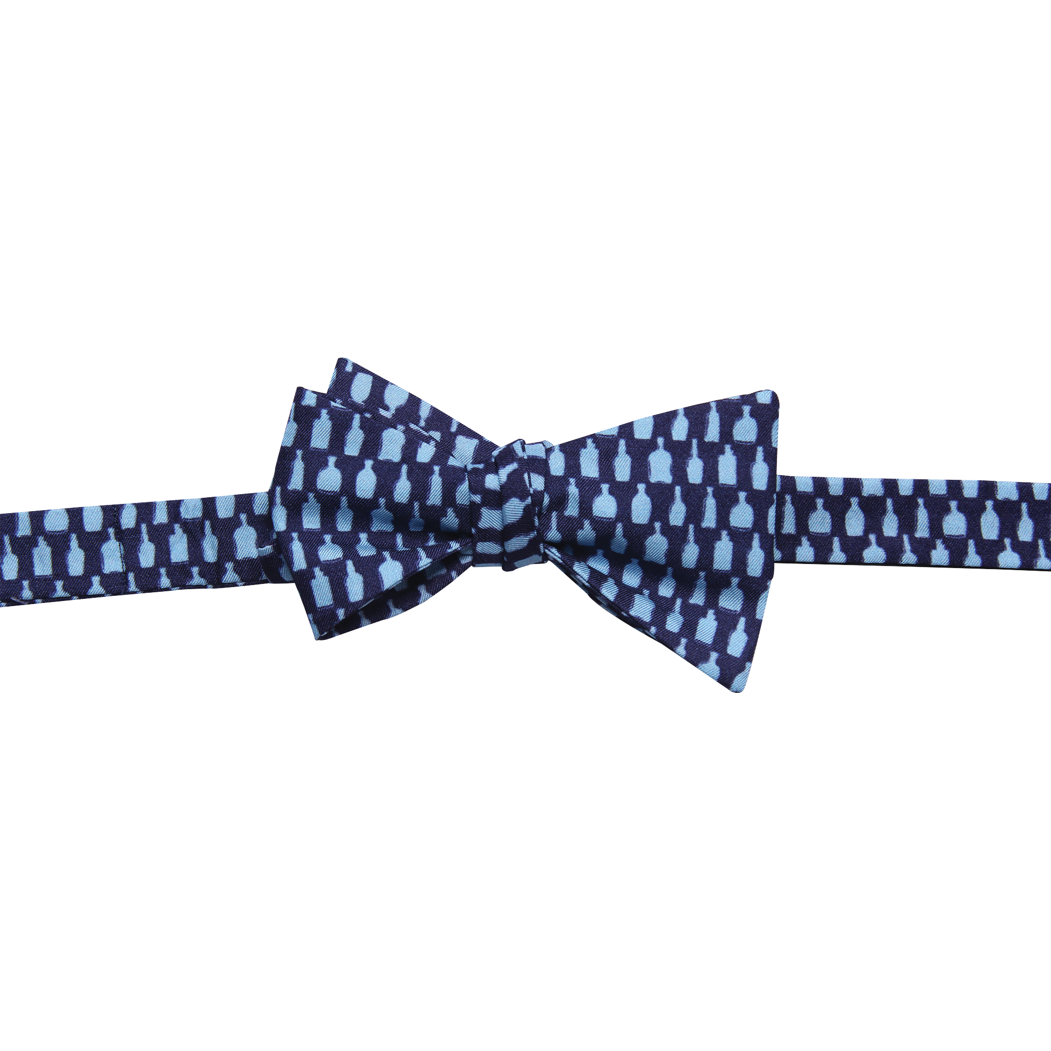 Bottled Up Navy Bowtie - Barrel Down South
