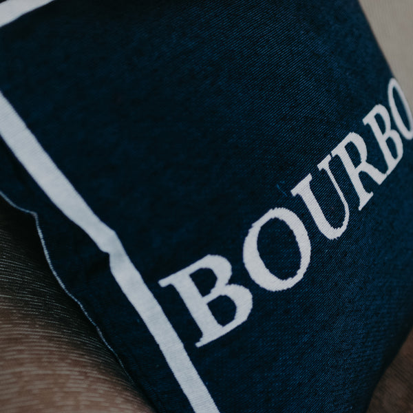 Navy Bourbon Pillow - Barrel Down South