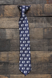 Kids Navy KY Necktie - Barrel Down South