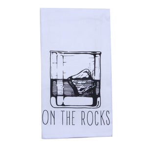 On the Rocks Tea Towel