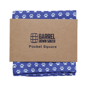 Paw Y'all Pocket Square - Barrel Down South