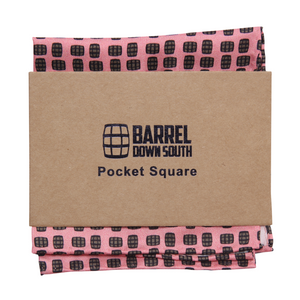 Barrel Aged Pocket Square - Barrel Down South