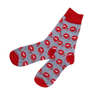 Red Football Socks - Barrel Down South