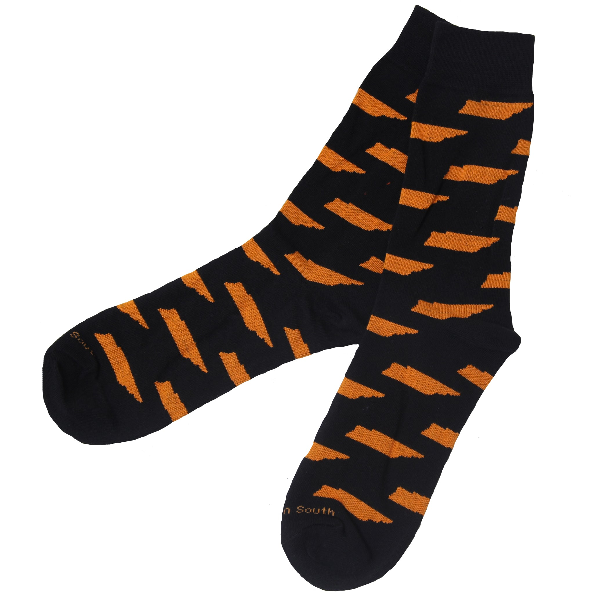 Black/Orange TN Socks - Barrel Down South