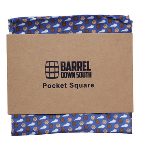 Traditions Pocket Square - Barrel Down South
