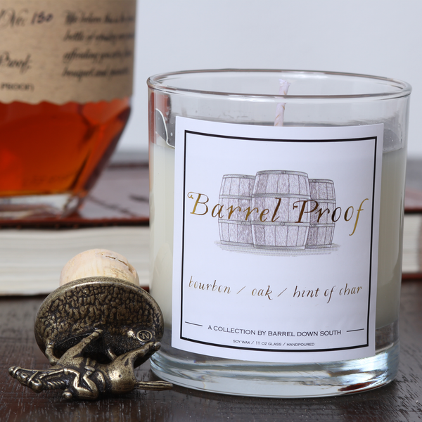 Barrel Proof Candle - Barrel Down South