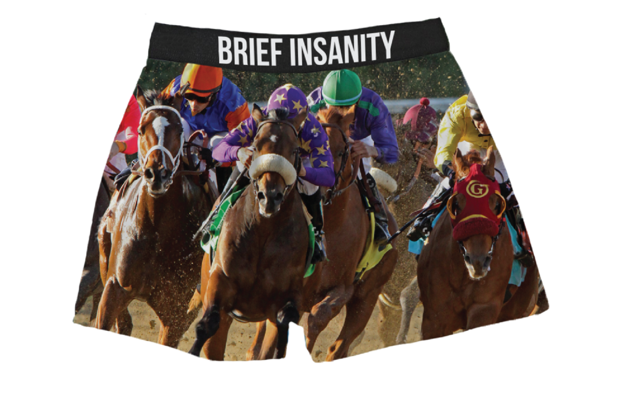 Derby Racehorse Boxers - Barrel Down South