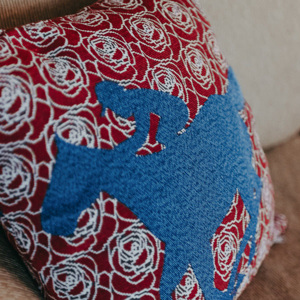 Blanket of Roses Pillow - Barrel Down South