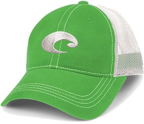 Costa Del Mar Mesh Hat Spring Green/White