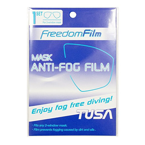 Anti-FOG Film for Single Window Masks