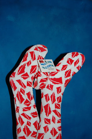 Dive Buddy Originals Water Socks - Dive Flag Design