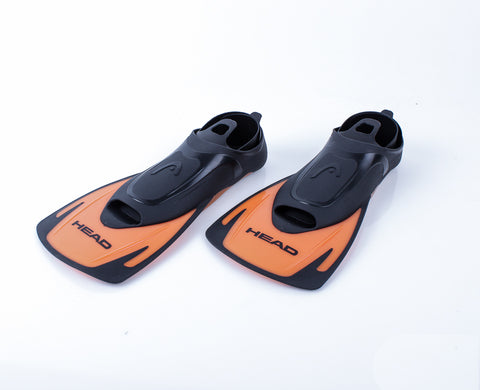 HEAD Energy Swim Fin - Orange w/black accent