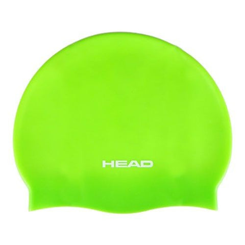 HEAD Silicone Flat Jr Swimming Cap - Lime (Green)