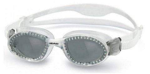 HEAD Swimming Superflex Jr Goggles - Translucent frames w/smoke lenses