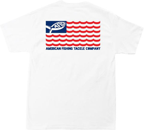 Men's American Flag Short Sleeve Shirt