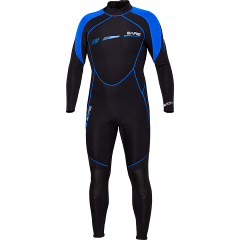 Bare 3/2mm Sport Mens S-FLEX Full Suit